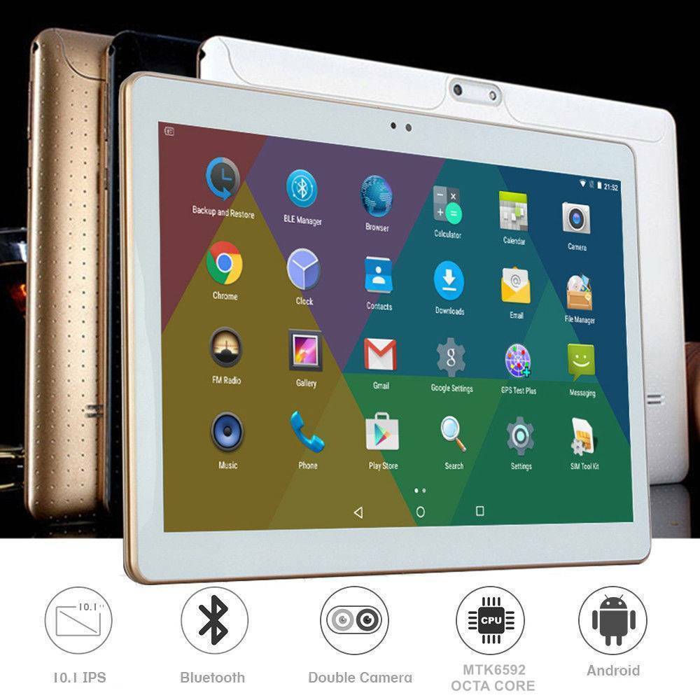 TABLET 10 POLLICI 3G OCTA CORE 8 2.0GHz 4GB RAM 64GB ROM ANDROID 7 DUAL