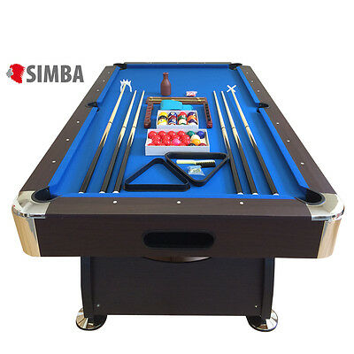 TAVOLO DA BILIARDO + ACCESSORI PER CARAMBOLA - SNOOKER BLUE billiard table italy