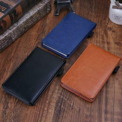 Multifunction Pocket Planner A7 Notebook Business Notepad Notebook Leather Cover