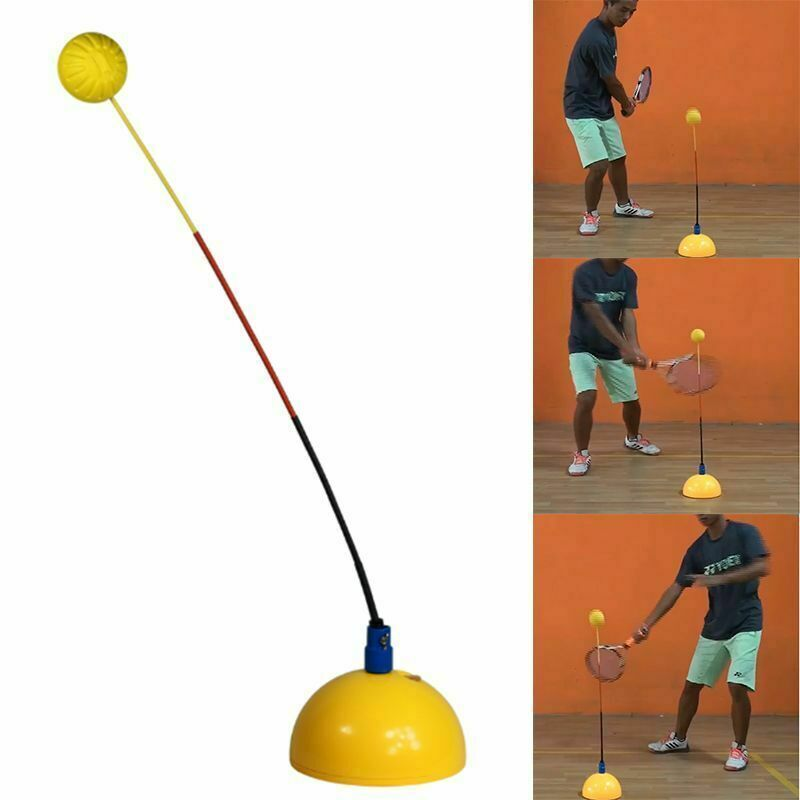 Portable Stereotype Swing Ball Machine Practice Trainer Tennis Training Tool