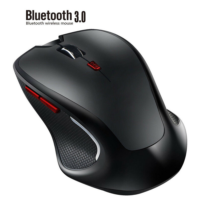 2.4GHZ 6D Bluetooth 3.0 Wireless Gaming Mouse Office Mice Adjustable 2400D JP