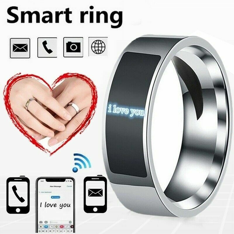 NFC Smart Finger Digital Ring Wear Connect Android/Phone Fashion Equipment I8J8