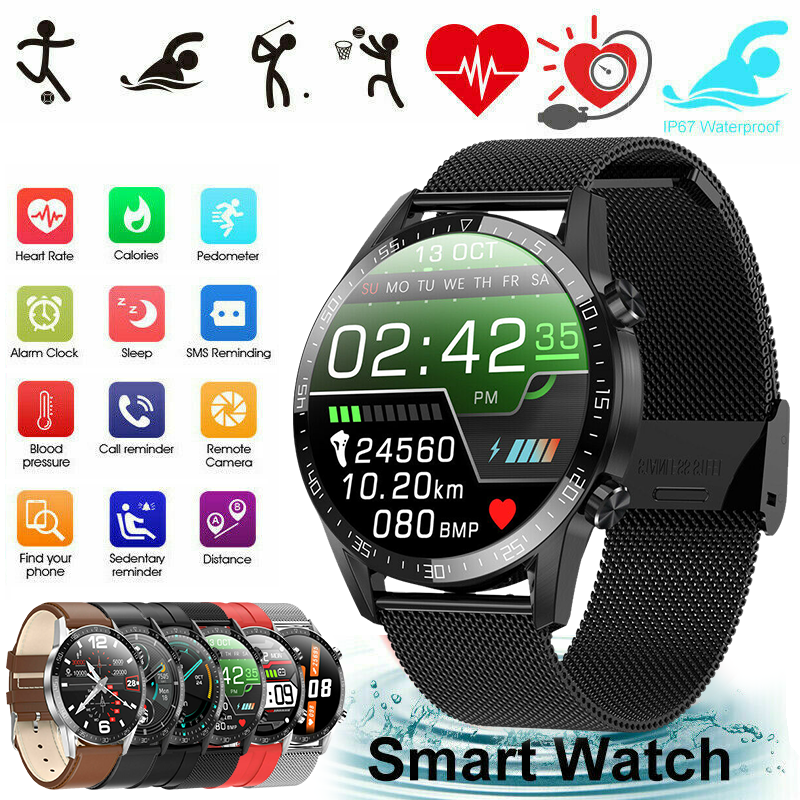 Smart Watch Bracciale Wristband Frequenza Orologi Blood Pressure Fitness Tracker