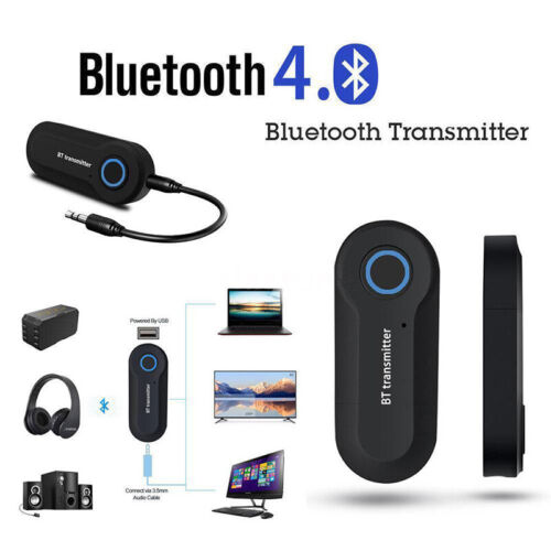 Adattatore Audio Stereo Trasmettitore Wireless Bluetooth per TV DVD PC MP3