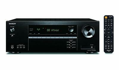 Onkyo TX-SR393 (B) 5.2 Canale Ricevitore Av (Dolby Bluetooth,155 W / Canale)