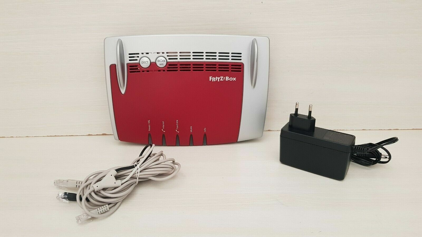 Fritzbox 7490 AVM FRITZ!BOX modem router  EDITION WIND con cavo Y