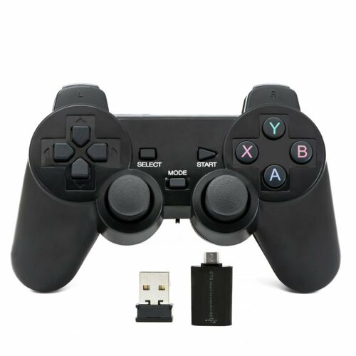 2.4 GHz wireless gamepad joystick joypad game controller per PC Android