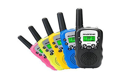 Walkie talkie baofeng bf t3 2 ricetrasmittenti colorate coppia radioline