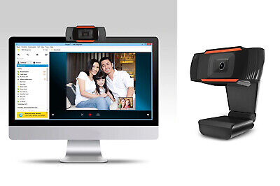 Telecamera pc webcam microfono integrato USB camera fotocamera computer video