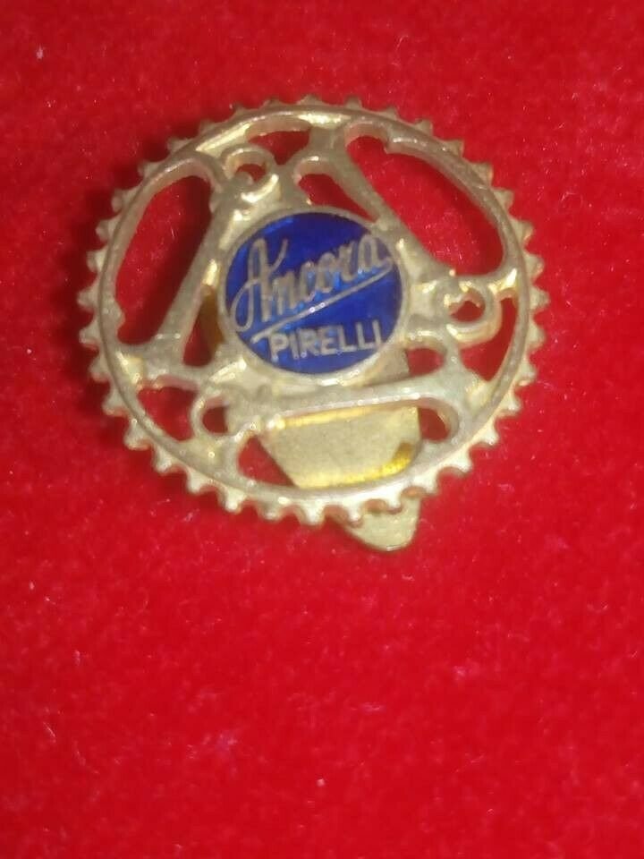 pin  badge distintivo pirelli 1930 rara