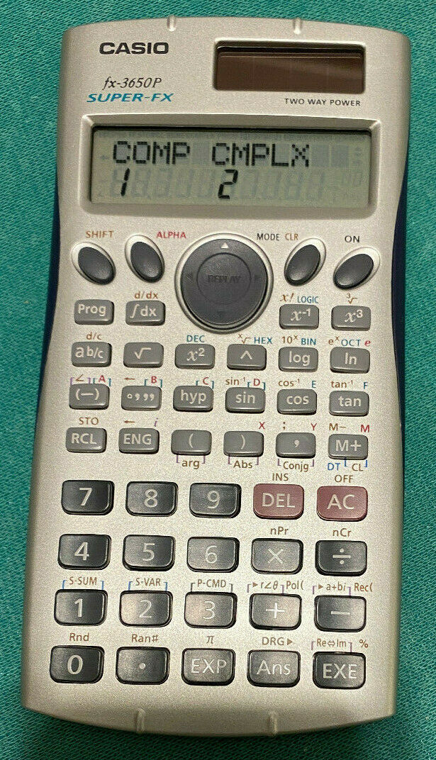 Calcolatrice Scientifica Programmabile CASIO FX-3650P