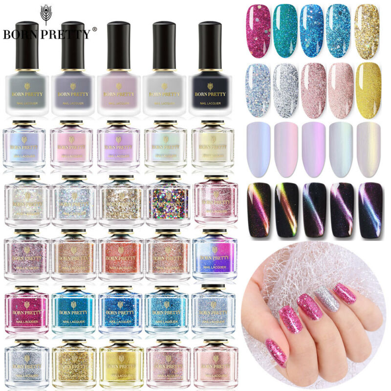 BORN PRETTY Magnetico Smalto per unghie Termico Nail Polish  74 Colors