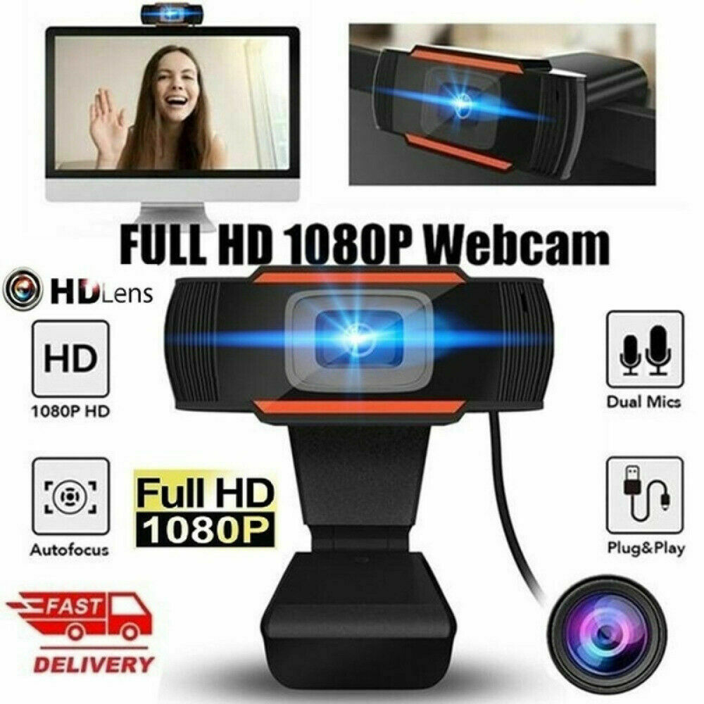 WEBCAM 1080P FULL HD MPX MICROFONO WEB CAM CHAT MSN SKYPE ZOOM VIDEO LEZIONE GLS