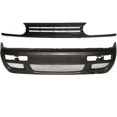 Set Per VW Golf III 3 Rs Look Paraurti Anteriore + Grill Supporto Anno Fab.