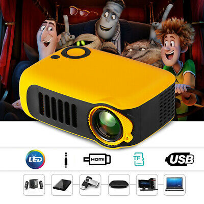 Mini Video Proiettore Leggero 1080P Supporto Per Cinema Theater Casa Teatro M1S4
