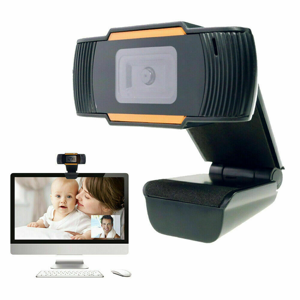 WEBCAM HD 720P CON MICROFONO INTEGRATO SMART WORKING SKYPE VIDEO CAMERA PER PC