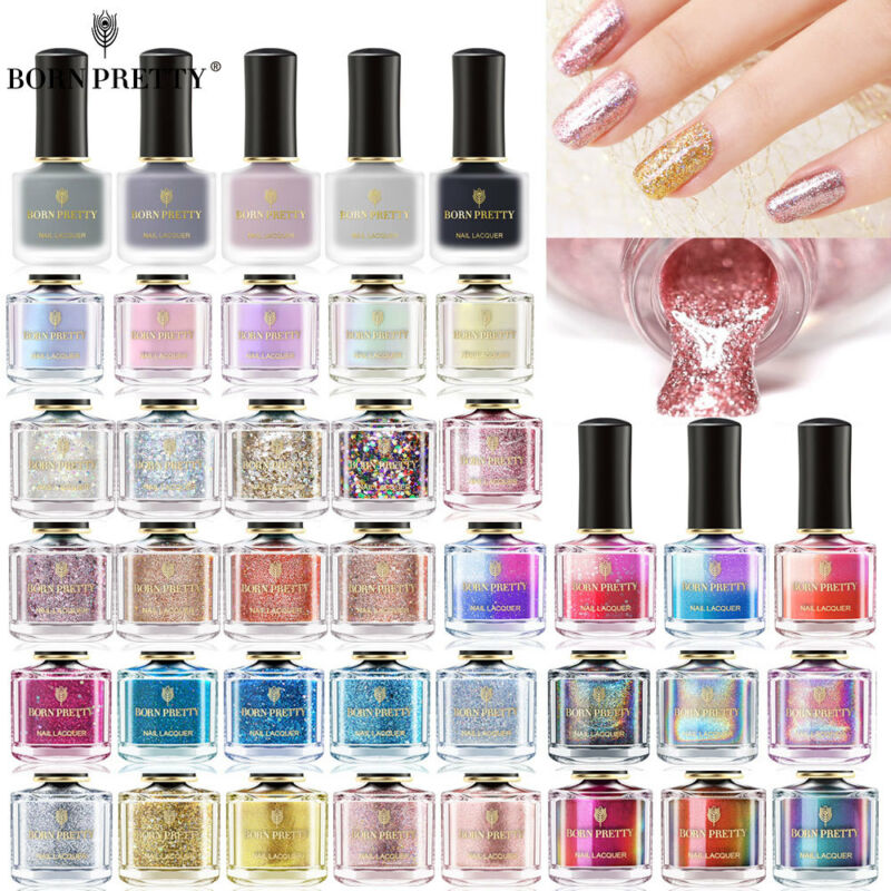 BORN PRETTY Holographicsssss Smalto per unghie Termico Nail Art Polish  Decor
