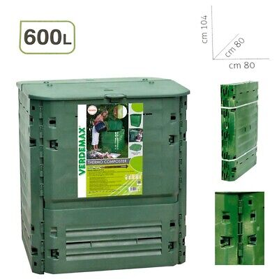 Verdemax Composter Thermo-King Litri 600