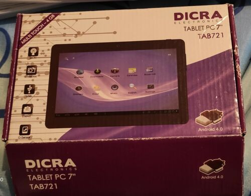 DICRA TAB 307 TABLET ANDROID 7 POLLICI 4 GB