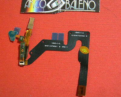 FLAT FLEX INTERRUTTORE ON OFF PER MOTOROLA ATRIX MB860 + ALTOPARLANTE SPEAKER
