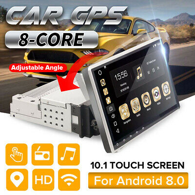 "10.1 ""AUTORADIO Android con Navigazione Navi blueeoth TOUCH WIFI GPS 1DIN MP5 SD"