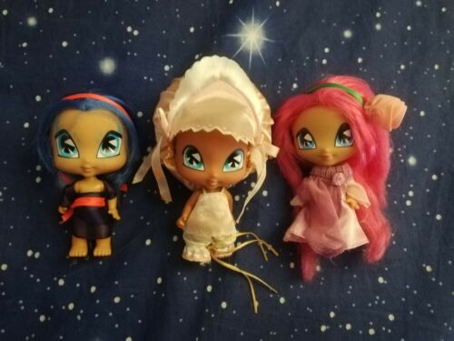 Winx Club lotto 3 Pixie Piff Digit Amore bambola doll 12 cm