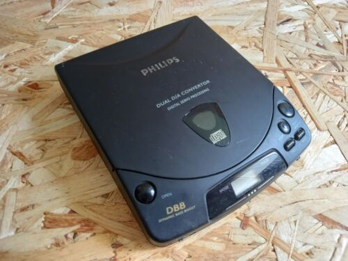 Vintage Retro Philips Discman Personal CD Player AZ 6830/03 Tested and Working