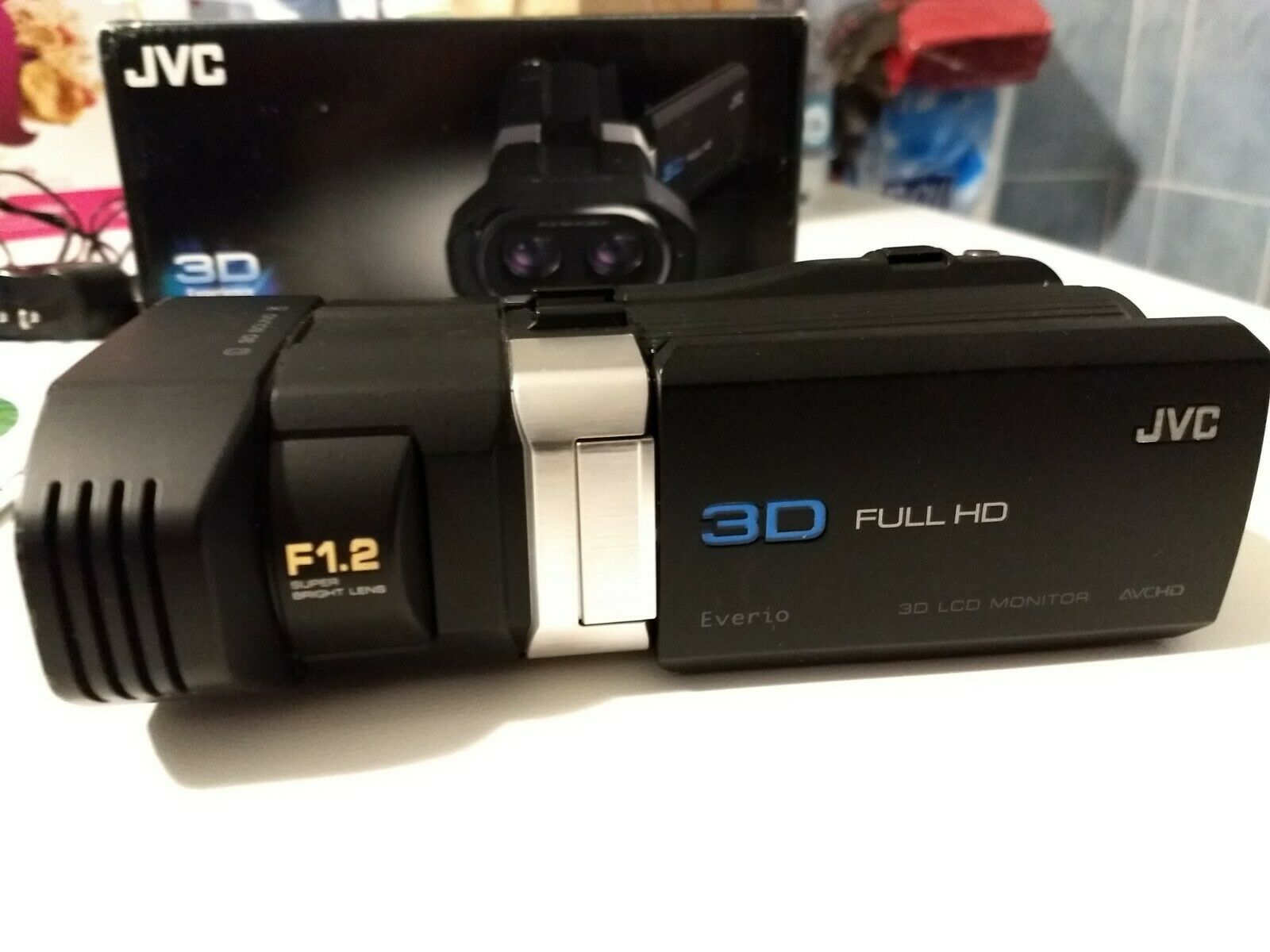 3D stereoscopic video camcorder JVC GS-TD1