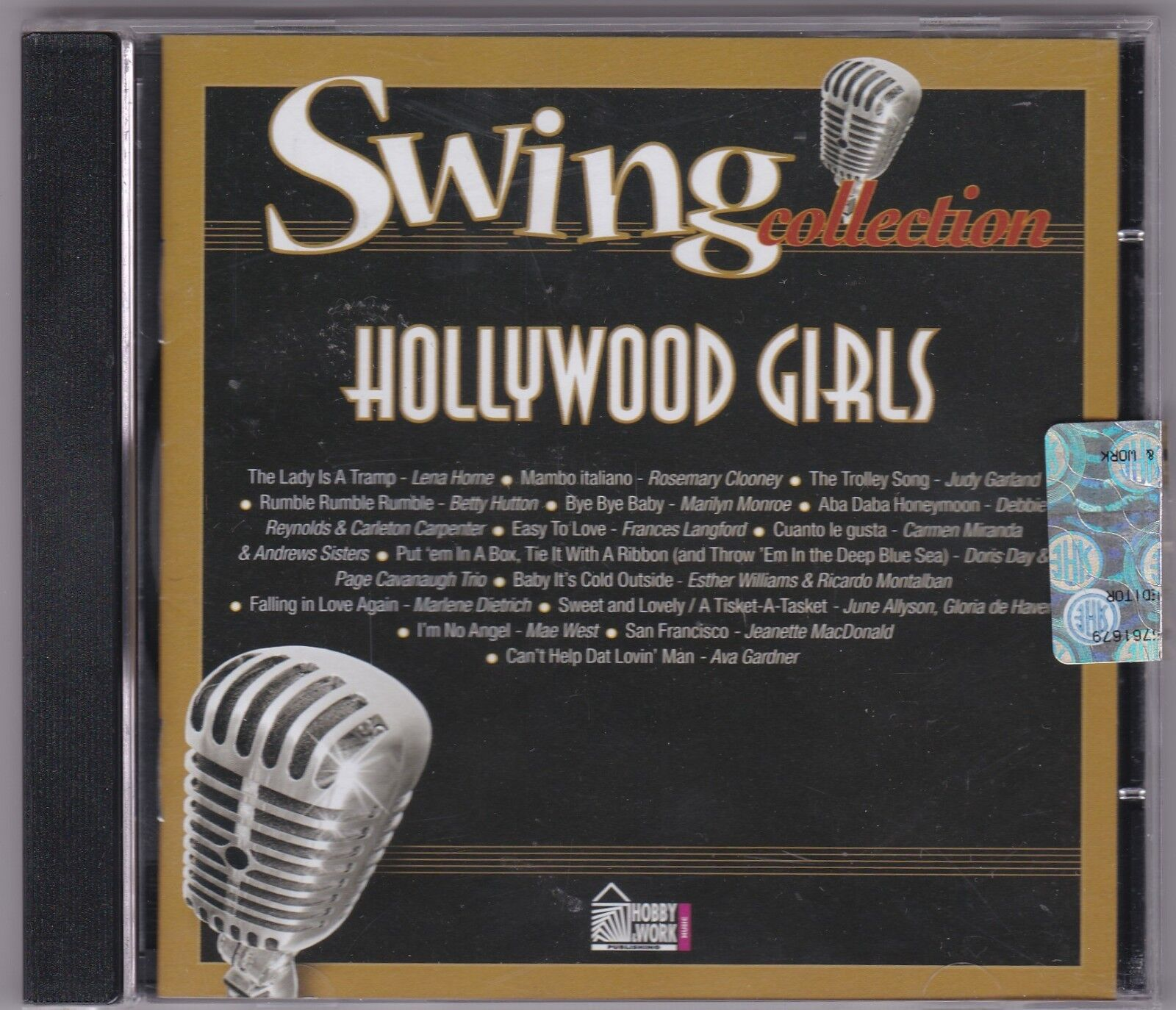 AA.VV. Swing collection : Hollywood girls #  CD USATO COME NUOVO nM/nM
