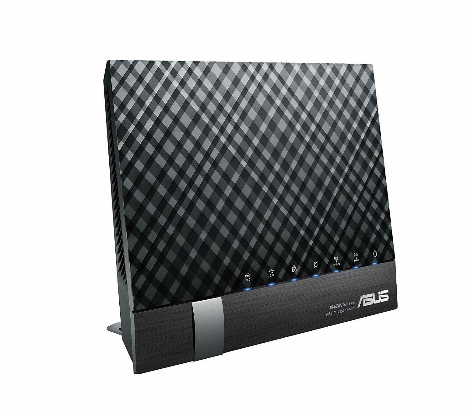 ASUS RT-AC56U Gigabit-Router - 802.11ac Dualband Wireless-AC1200