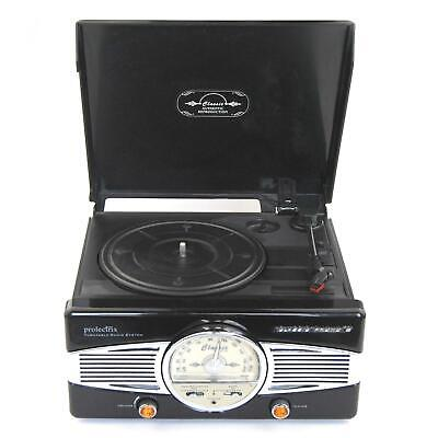 Prolectrix Retro Style Turntable Record Player Radio System - See Description