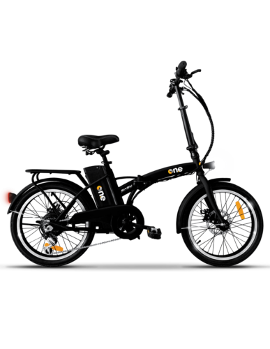 The One Bicicletta Elettrica E Bike Pieghevole 250 W 35 km Nero One Easy Black