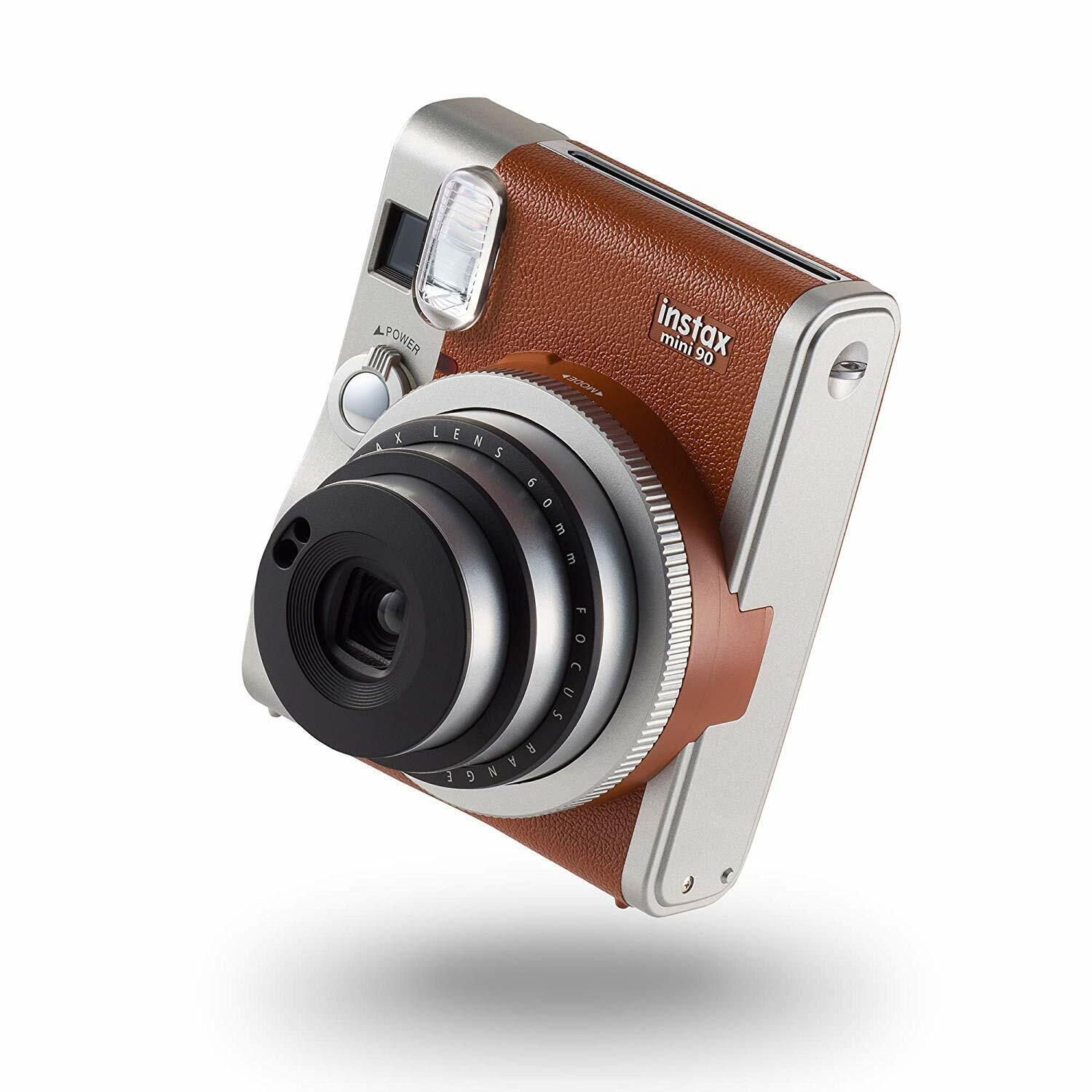 FOTOCAMERA ISTANTANEA DIGITALE FUJIFILM INSTAX MINI 90 NEO CLASSIC BROWN MARRONE