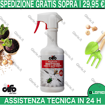 Insetticida repellente cimici vespe ed altri insetti CIFO spray 500ml no gas