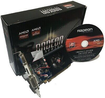 SCHEDA VIDEO GRAFICA HD 7450 2GB DDR3 64 Bit PCI-EXPRESS HDMI DVI VGA AMD RADEON