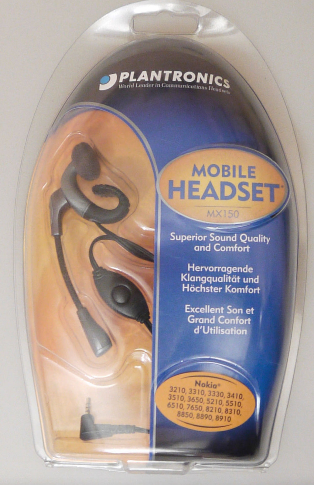 PRL) MOBILE HEADSET NOKIA AURICOLARE CELLULARE PHONE MICRO SERIE 3 5 6 7 8 NOS