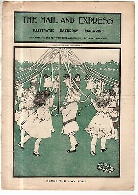 1903 Sera Posta Supplemento Maggio 2 - Palo Danza ; Teddy Roosevelt IN