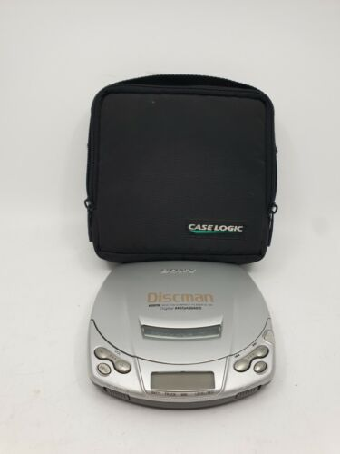 Sony D-191 Discman Portable CD Player - TESTED