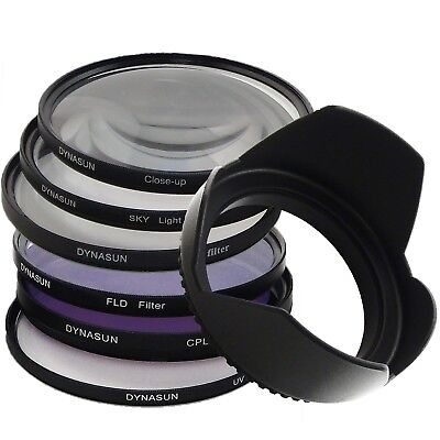 Kit Filtro DynaSun UV 67mm Polarizzatore Star Close Up Skylight FLD 67 Paraluce