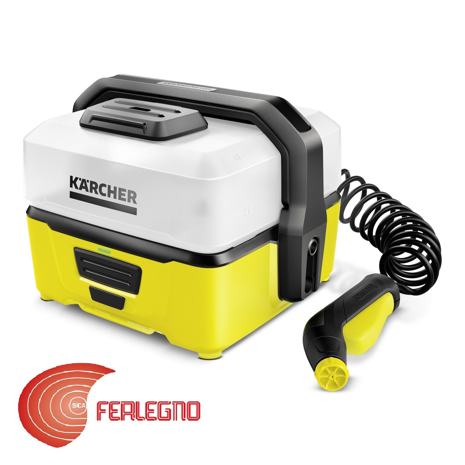 IDROPULITRICE PORTATILE A BATTERIA NO ACQUA MOBILE OUTDOOR CLEANER OC3 KARCHER