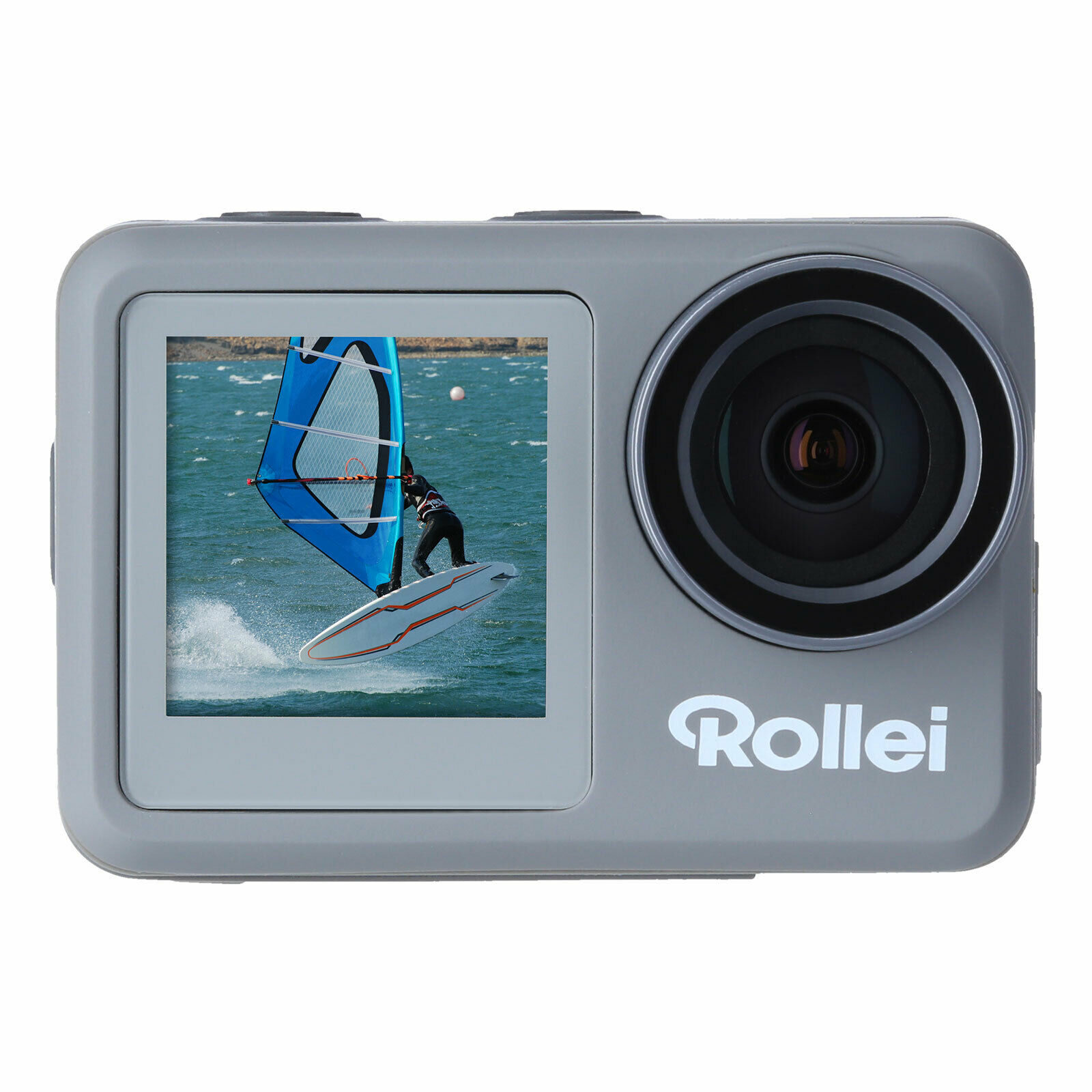 Rollei Actioncam 9S Plus Wasserdichte Actionkamera 4K 60 FPS WiFi Touchscreen