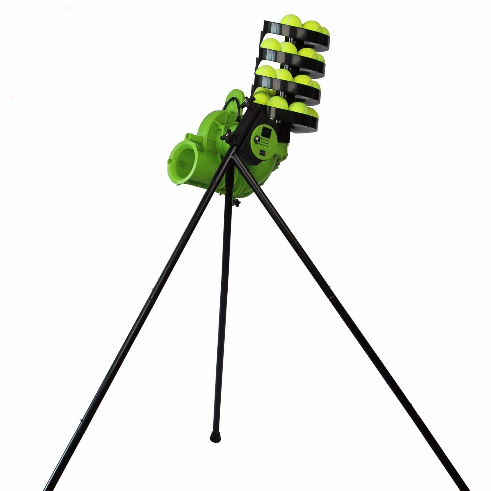 Baseliner Slam Tennis Ball Machine - Best For Home Courts & Training Beginners