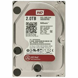 "WD Red 2 TB, Interno, 5400 RPM, 3.5"" Disco Rigido (WD20EFRX)"