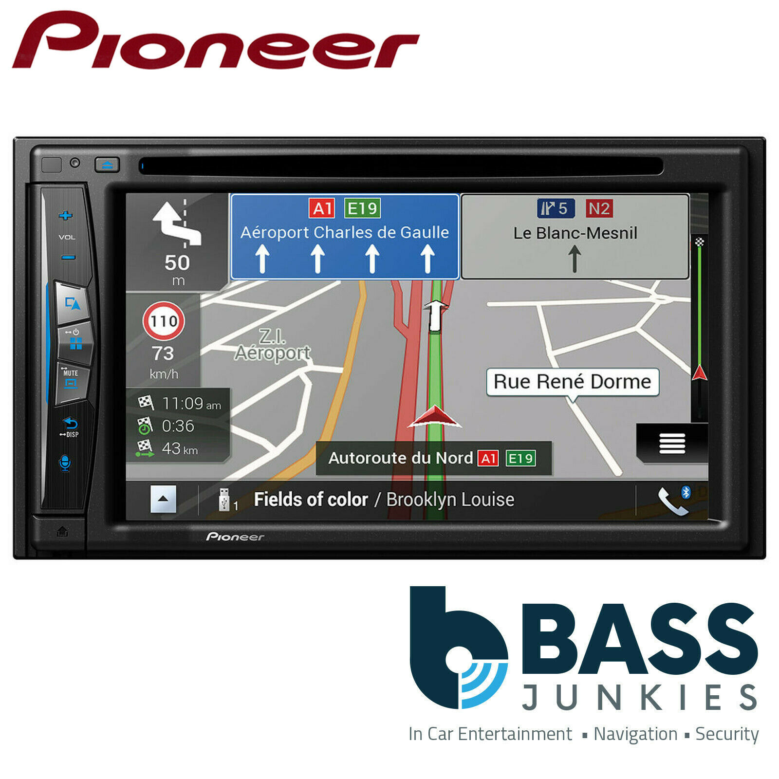 "Pioneer AVIC-Z610BT-C 6.2"" CarPlay Sat Nav Bluetooth Wifi Camper Van Car Stereo"