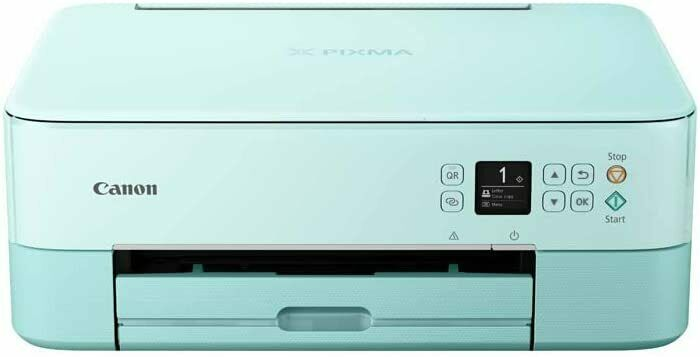 Stampante Multifunzione Canon PIXMA TS 5353 wireless AirPrint Mopria Turchese