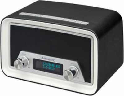 Radiosveglia Digitale DAB Radio Sveglia Snooze Sleep New Majestic DAB-842NW