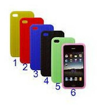 Custodia cover pneumatico in silicone per iPhone 4 tyre