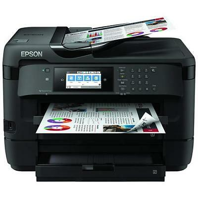 EPSON Stampante Multifunzione WorkForce WF-7720DTWF Inkjet a Colori A3 Stampa Co