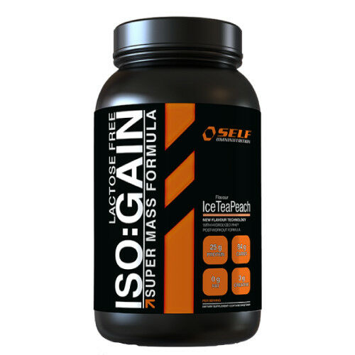 Self Lactose Free Iso:Gain 2 Kg Proteine Formula Super Mass Sport Palestra