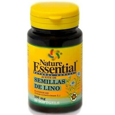 OLIO DI SEMI DI LINO 500 MG 50 CAPSULE NATURE ESSENTIAL